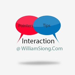 Social Interaction at WilliamSiong.Com